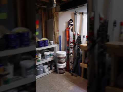 Basement Workshop/Storage Closet