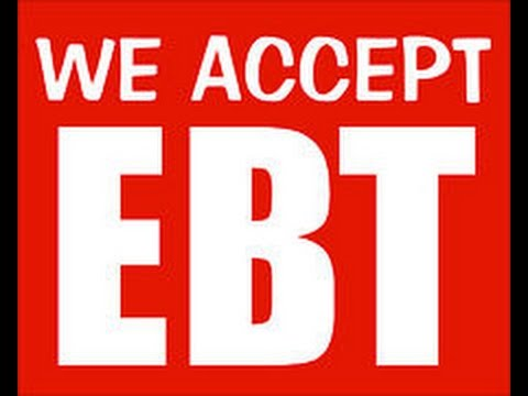 Como aceptar tarjetas EBT en forma de pago en estados Calificantes