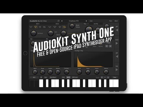 The Incredible Story of AudioKit Synth One // 1st Pro Open-source iPad Synth