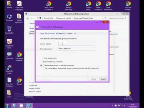 Set up vpn on windows 8