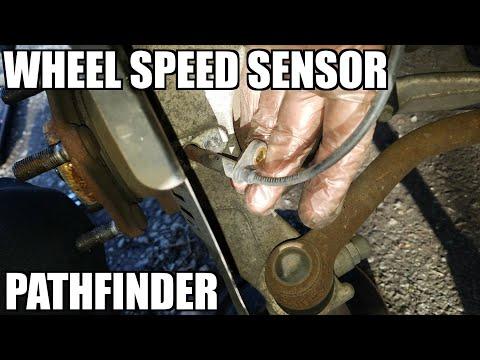 Wheel Speed Sensor 05-18 Nissan Pathfinder Replacement