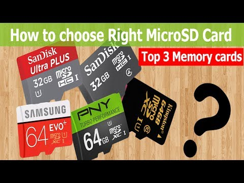How to Choose Best/Right memory card for Android 2017 ! Top 3 fastest micro SD cards in the world