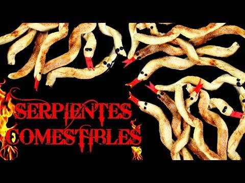 SERPIENTES COMESTIBLE DE MEDUSA