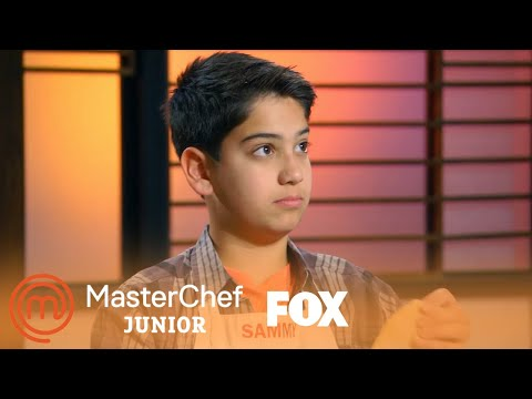 Gordon Talks To Sammy About Fresh Pasta | Season 6 Ep. 10 | MASTERCHEF JUNIOR