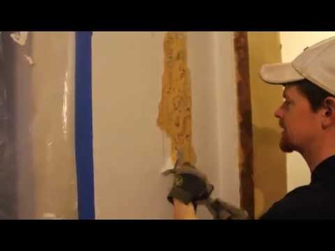 How To Scrape Wallpaper Off Of Plaster Walls