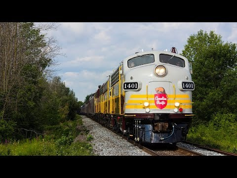 Canadian Pacific Special! CP CANADA 150 TRAIN in Toronto [August 11, 2017]