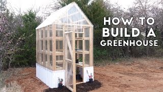 How to Build a Simple, Sturdy Greenhouse from 2x4
