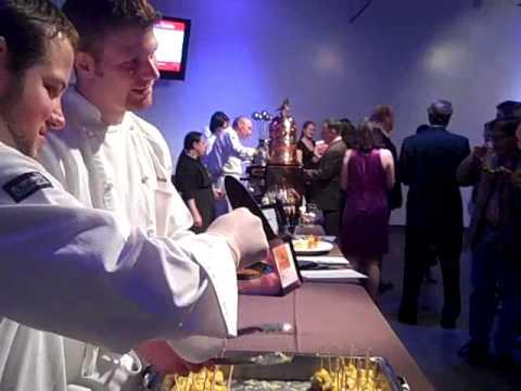 Chef Track Grad Chris Lobkovich Serves Bison Meatballs