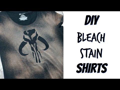DIY Bleach Stain Shirts | Nerdy Crafts Ep. 36