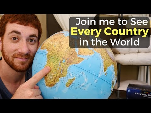 I'm Drew Binsky & I'm Going to Every Country in the World