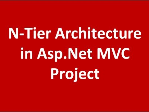 Simple Layer Architecture in Asp.Net MVC Project