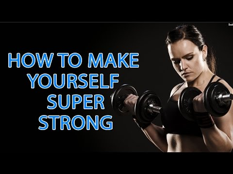 How To Make Yourself Super Strong | How To Get Stronger | Best Home Workout Tips | Health Tips