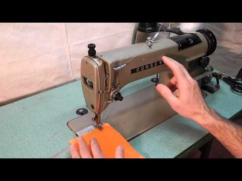 Consew 230 Industrial Sewing Machine with Reverse Made in Japan