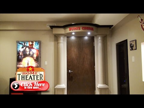 How to Build the Ultimate Home Theater Entrance - The Burke Home Theater Project