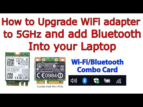 How to Install Bluetooth into your Laptop. Wi-Fi + Bluetooth Combo Adapter