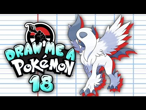 Draw me a Pokemon - Speed Painting 30 min #18 - M-absol / Mega absol