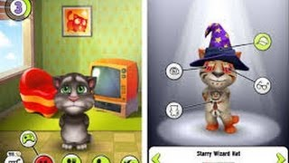 My Talking Tom - GamePlay Trailer  Best Android Games and iOSGames 2013/2014(iPhone - iPad - iPod Touch) My Talking Tom Game windows phone Please subscribe to support: http://www.youtube.com/subscription_center?add_user=GameTurka Download:https://play.google.com/store/apps/details?id=com.outfit7.mytalkingtomfree&hl=en https://itunes.apple.com/US/app/id657500465?mt=8 Adopt your very own baby Tom. Feed him, play with him and nurture him! Dress him up any way you like by picking from a wide selection of fur colors, hats and glasses. You can even decorate his home and make it more cozy! Play with Talking Tom like never before and watch as he becomes a part of your everyday life. The original Talking Tom apps have been downloaded over 500 million times and reached no. 1 in 140 countries. FEATURES:  - Nurture your very own Tom: Play games with him, feed him his favorite foods, tuck him into bed.  - Enjoy life-like emotions: Tom can be happy, hungry, sleepy, bored... his emotions change according to how you play with him.  - Unleash your creativity: Create your very own Tom by choosing from 1000