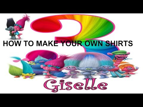 **UPDATED**How To Make a Iron On Transfer for Shirts, DIY Shirts, Birthday Shirts DIY