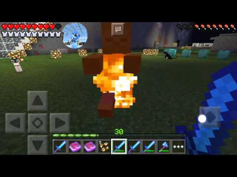 Minecraft And The Fire Sword