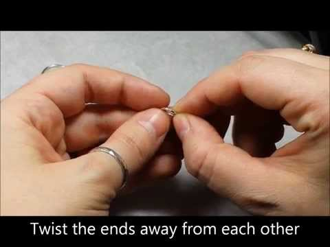 How to Open & Close an Endless Nose Ring