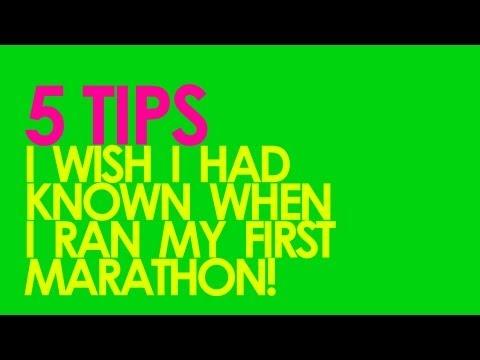 5 TIPS FOR RUNNING YOUR FIRST MARATHON - GingerRunner.com