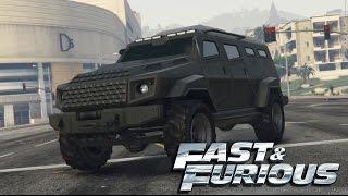Fast and Furious 5 -  Gurkha LAPV (Insurgent) Car Build!