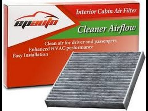 How to change the Cabin Air Filter on a Toyota Camry 2012
