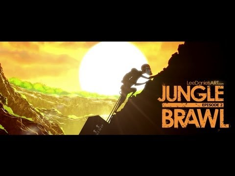 After Effects Animation | JUNGLE BRAWL - Episode 2