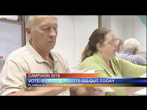 Vote-by-mail ballots officially sent to Florida voters