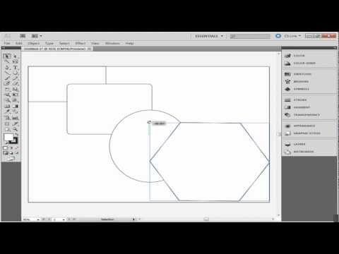 How to make shapes in adobe illustrator