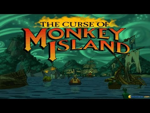 The Curse of Monkey Island gameplay (PC Game, 1997)