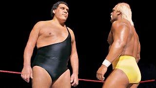 Hulk Hogan Vs Andre The Giant Wwe Championship Match Wrestlemania Iii