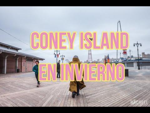 CONEY ISLAND, NEW YORK, EN INVIERNO