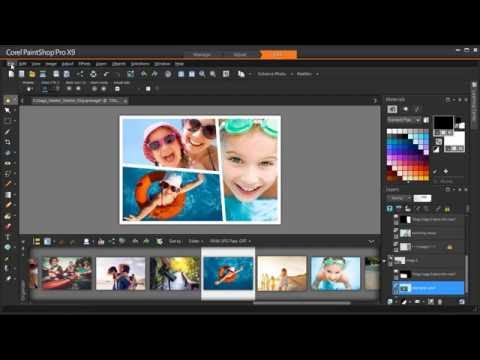 Save time with project templates in PaintShop Pro