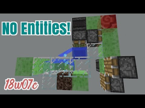 Entity-less  water moving Flying Machine!- Snapshot 18w07c