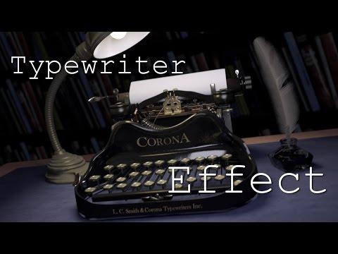 Tutorial I Typewriter Text Effect in Blender