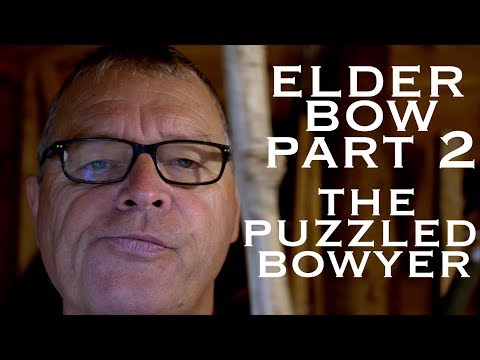 Making an Elder Bow. Part Two. The Puzzled Bowyer 🤔 The Beginning of an Elder Flatbow?