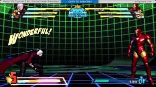 Marvel VS Capcom 3 - Full Special Moves Walkthrough MVC3