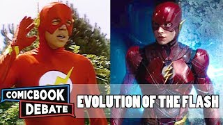 Evolution of the Flash in Movies & TV in 9 Minutes (2017)