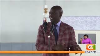 Ruto awasuta Raila na Matiang'I kwenye sakata ya dhahabu