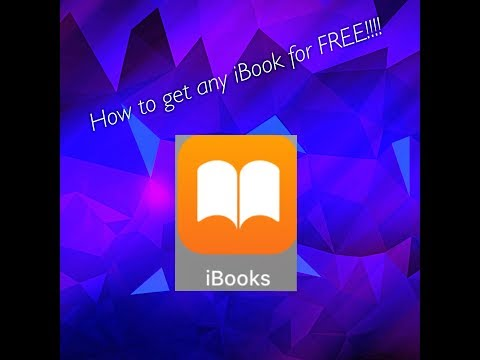 How to get any iBook FREE!! (BEST METHOD) IOS 11