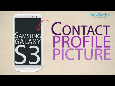 Samsung Galaxy S3 Contact profile picture
