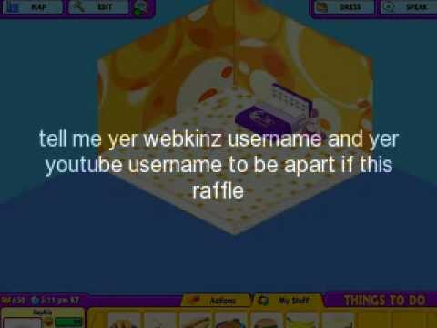 Im giving away a free webkinz account! (closed)