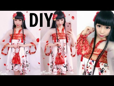 DIY: First Time Making Chinese Han Element Dress Inspired by Hanfu