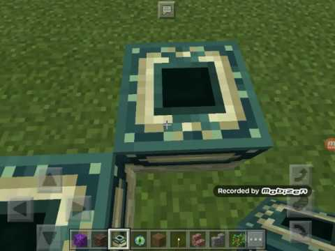 How to build a wither storm portal in minecraft pe