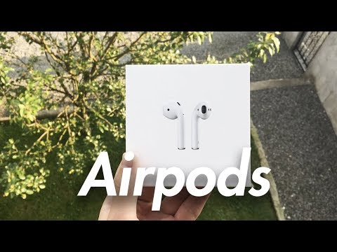 Apple Airpods - 2018 Unboxing