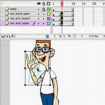 Flash Tutorial - Character Animation using Symbols