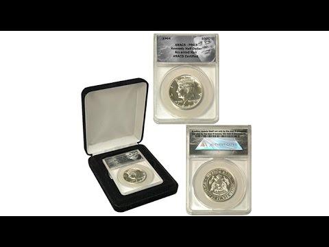 1964 ANACS PR63 Accented Hair JFK Error Coin