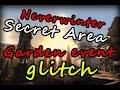 Neverwinter Xbox One   Secret glitch area   Protectors enclave garden