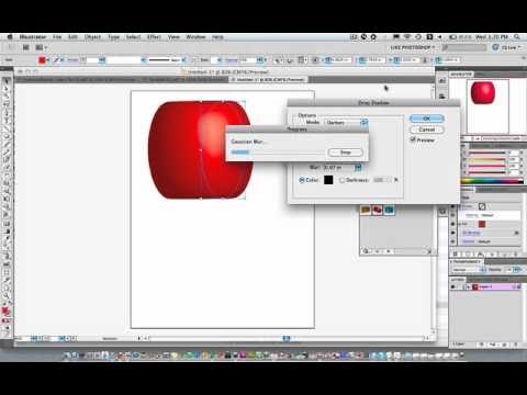 Drop Shadow in Illustrator CS5